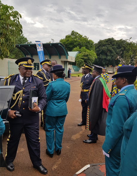 Welcoming The Commissioner General of the Zimbabwe Republic Police